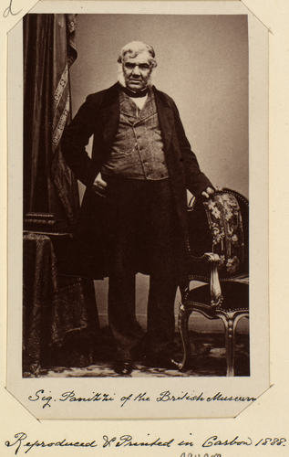 Sir Anthony Panizzi (1797-1879)
