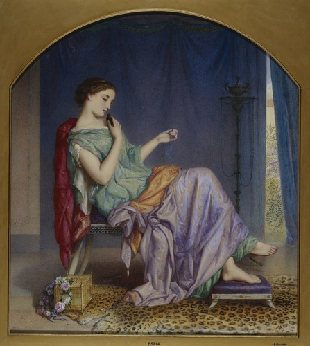Lesbia and the Sparrow