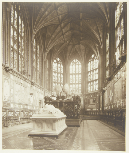Interior of the Albert Memorial Chapel, Windsor Castle