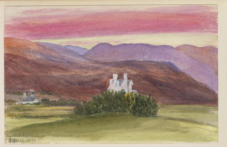 Master: SKETCHES BY QUEEN VICTORIA II Item: Castle of Braemar