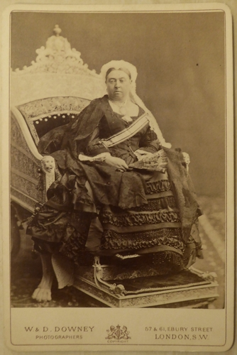 Queen Victoria (1819-1901) as Empress of India