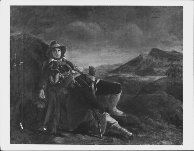 The Wounded Brigand