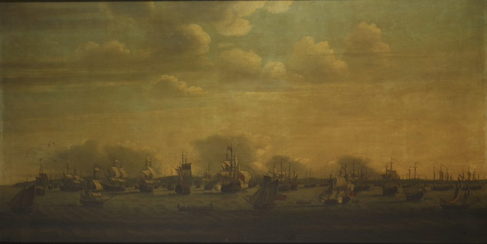 The English and Dutch Squadrons at Spithead in 1729