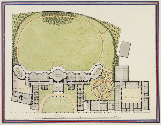 Marine Pavilion, Brighton. July 1801