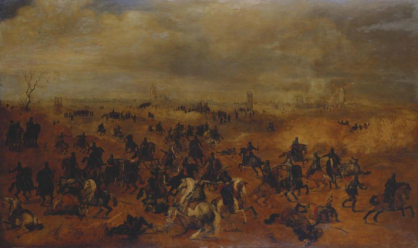 The Combat between 'Lekkerbeetje' and de Breaute