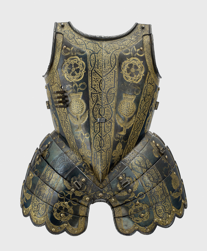 Master: Armour garniture of Henry, future Prince of Wales, for the field, tourney, tilt and barriers