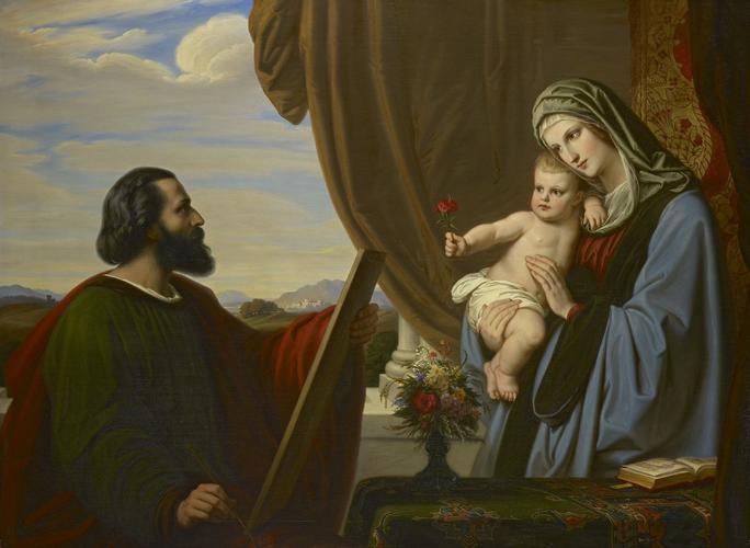 St Luke Painting the Virgin
