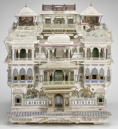 Model of a Jaipur House