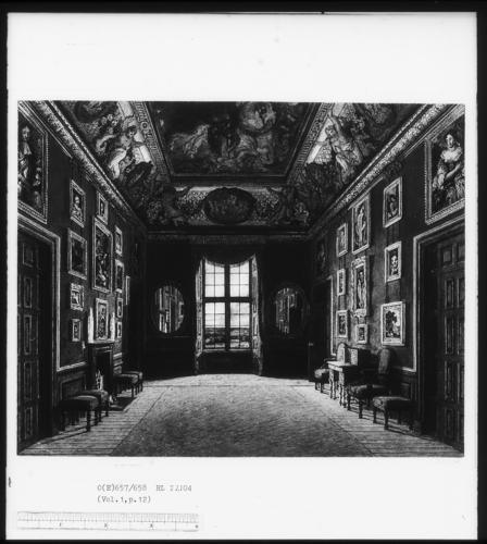 Windsor Castle: The King's Closet, 1816