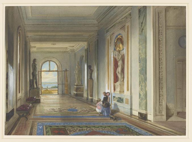 The Marble Corridor, Osborne House