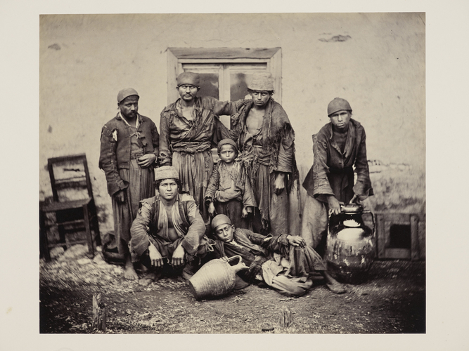 Water carriers at Durazzo [Durres, Albania]