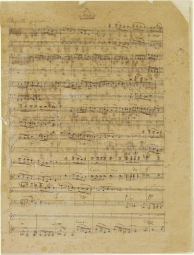 Lied ohne Worte fur das Piano vierhandig / von Felix Mendelssohn Bartholdy