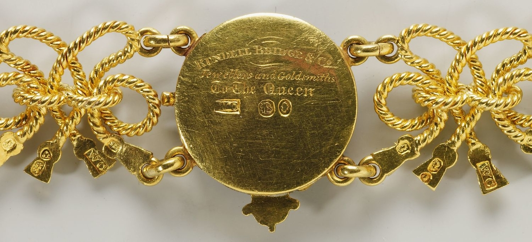 Order of the Garter. Queen Victoria's collar and Great George