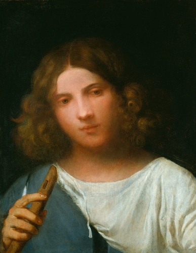 A Boy with a Pipe ('The Shepherd')