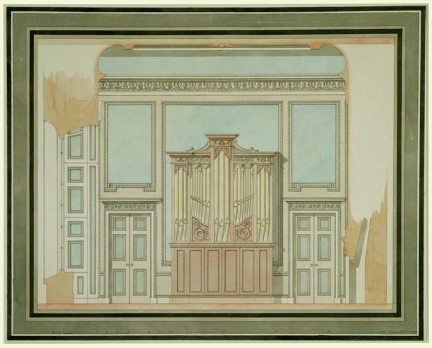 Design for the Music Room, Windsor Castle