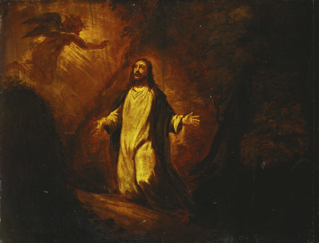 Christ in the Garden of Gethsemane (after Titian)