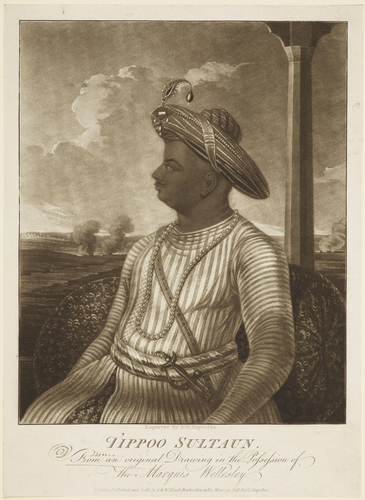 Tippo Sultaun (Son of Hyder Ally, Killed at Seringapatam, 1799)