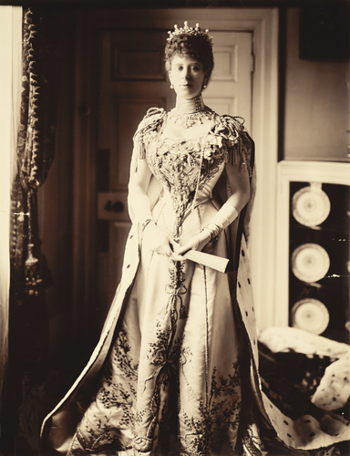 Queen Mary (1867-1953) when Princess of Wales