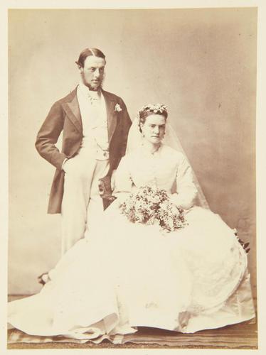 Mr and Hon. Mrs Hugh Seymour - 1869 [Photographic Portraits Vol. 4/62 1861-1876]