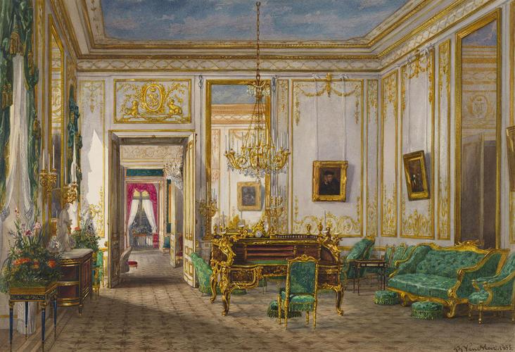 Queen Victoria's sitting room at Saint-Cloud