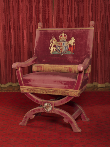 Master: Pair of throne chairs