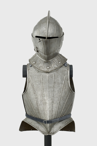 Helmet and cuirass