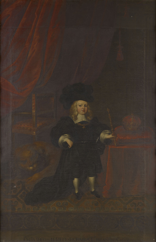 Carlos II, King of Spain as a Child (1661-1700)