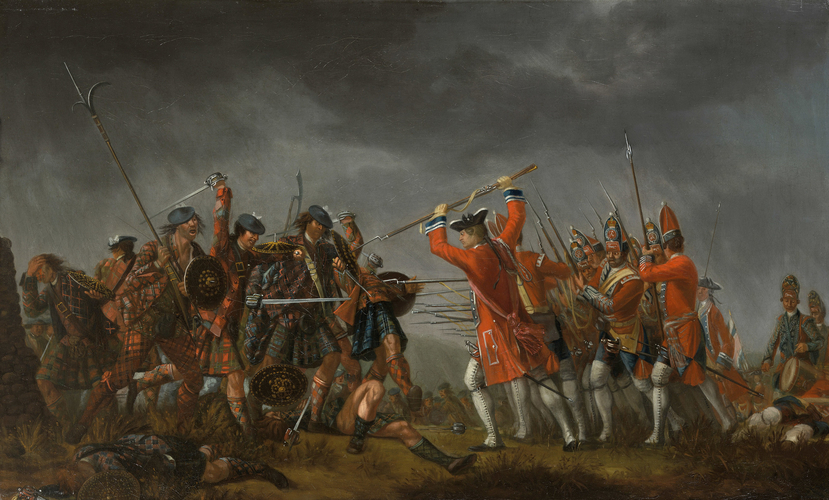 An Incident in the Rebellion of 1745