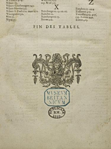 L'Histoire universelle du Sieur d'Aubigne. Tome troisieme . . . [1571-1585]