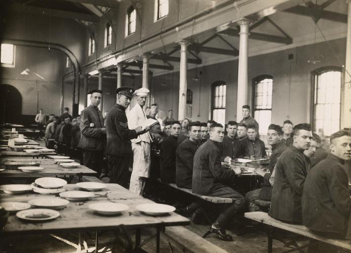 1st Scots Guards on Armistice Day