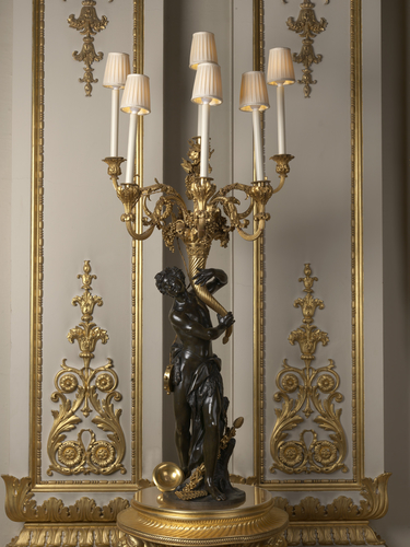 Set of candelabra