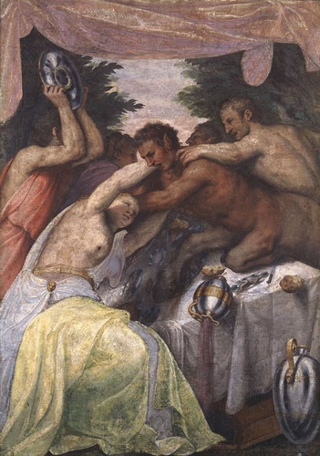 The Wedding of Pirithous and Hippodamia (I)