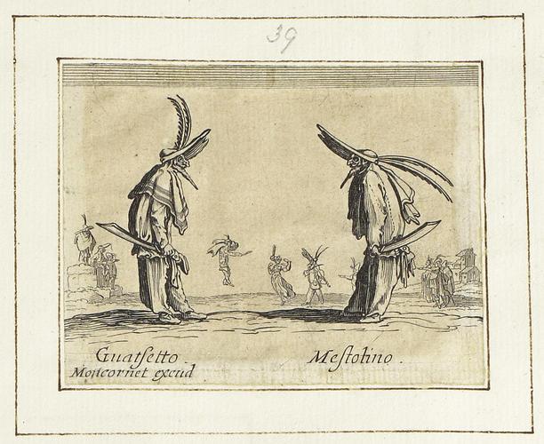 Master: Balli di Sfessania Item: Guatsetto and Mestolino