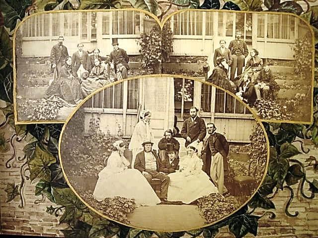 Album of designs, incorporating photographs