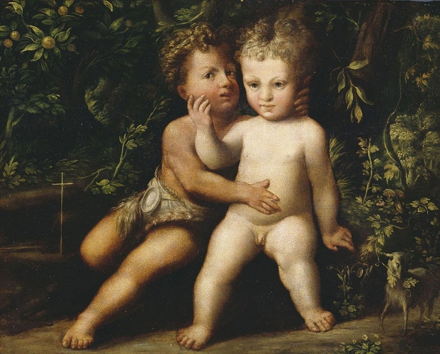 The Infant Christ and St John Embracing