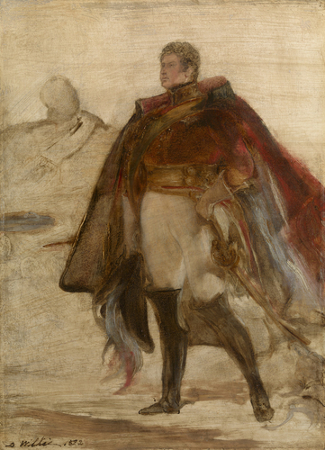 George IV at Holyrood House: A portrait sketch