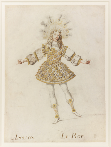 Louis XIV in the guise of Apollo