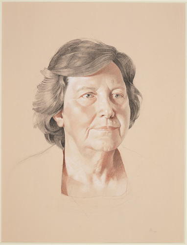 Portrait of Professor Dame Ann Dowling