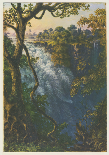 Master: Thomas Baines: his art in Rhodesia Item: Thomas Baines, his art in Rhodesia. Plate III: Devil's Cataract