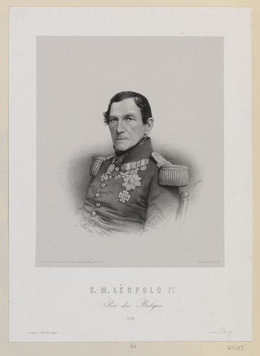 S. M. LEOPOLD 1er. Roi des Belges