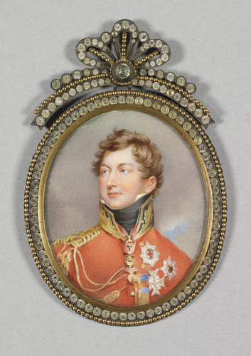George IV (1762-1830) when Prince Regent