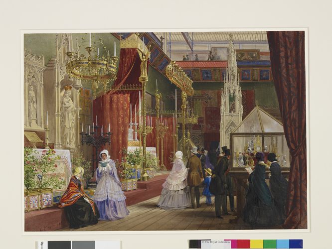 The Great Exhibition: the Medieval Court