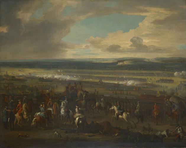 The Battle of Chiari, 1701
