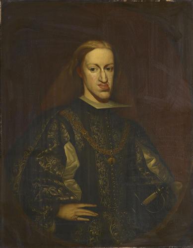 foto de Claudio Coello (1630/5-93) - Carlos II, King of Spain (1661-1700)
