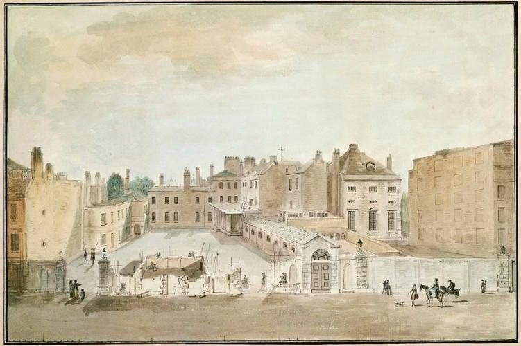 The Rebuilding of Carlton House