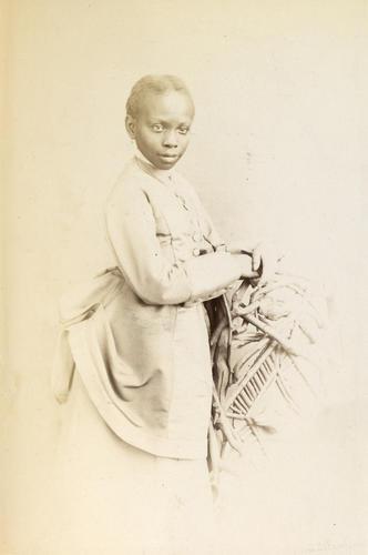 Victoria Davies. Daughter of Sally [Sarah] Bonetta Forbes, Mrs. Davies [Photographic Portraits Vol. 4/62 1861-1876]