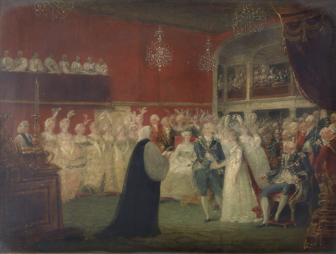The Marriage of George, Prince of Wales, and Princess Caroline of Brunswick