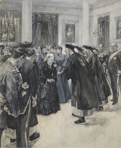 The Chinese Ambassador presented to the Queen, 5 August 1896