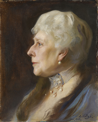 Princess Beatrice (1857-1944), when widow to Prince Henry of Battenberg (1896-1944)