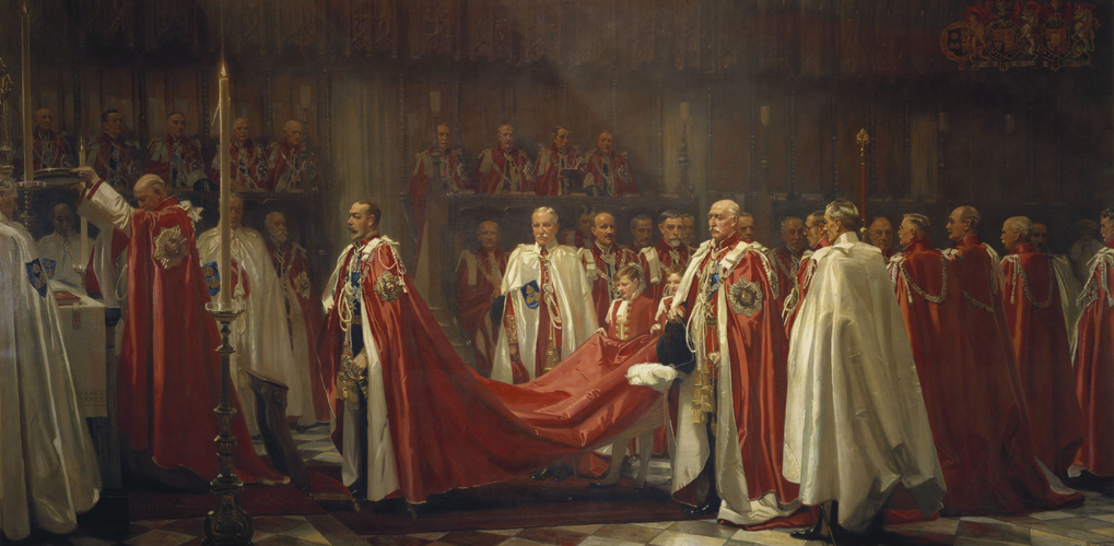 The Installation of the Knights of the Order of the Bath, The King's Offering
